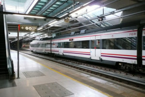 Trains at Malaga Airport - Photo credit: Jesse Spector