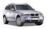 4x4 Car hire - BMW X3
