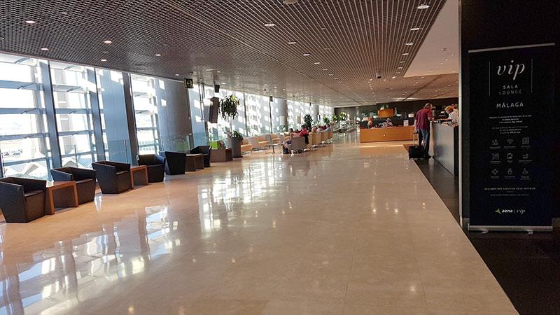 VIP area in Malaga Airport