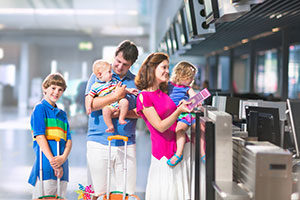 Services for kids at Malaga Airport