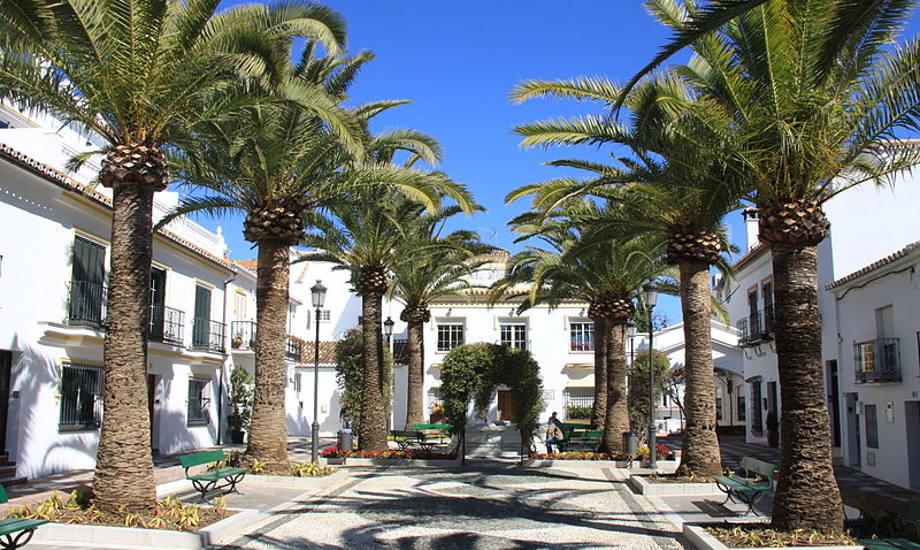 Square in Benalmádena Image