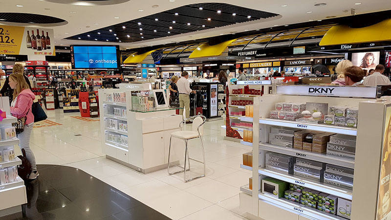 Shops in Malaga Airport