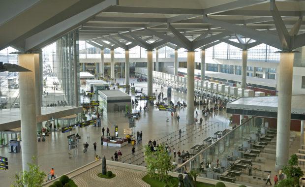 Passengers at Málaga-Costa del Sol Airport