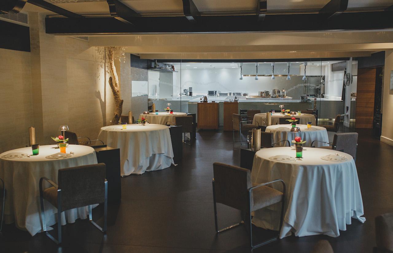 Dani García Restaurant setting