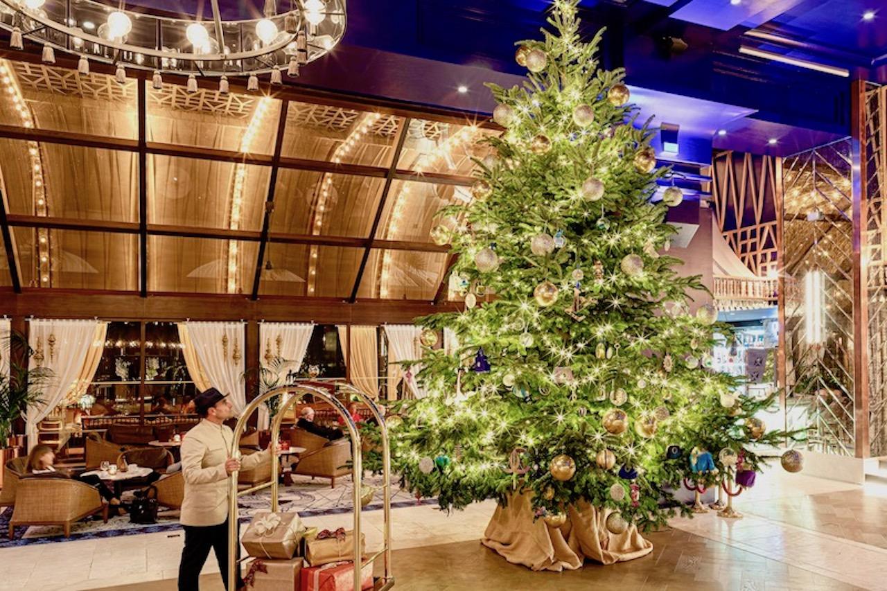 Christmas tree at Kempinski Hotel Bahía